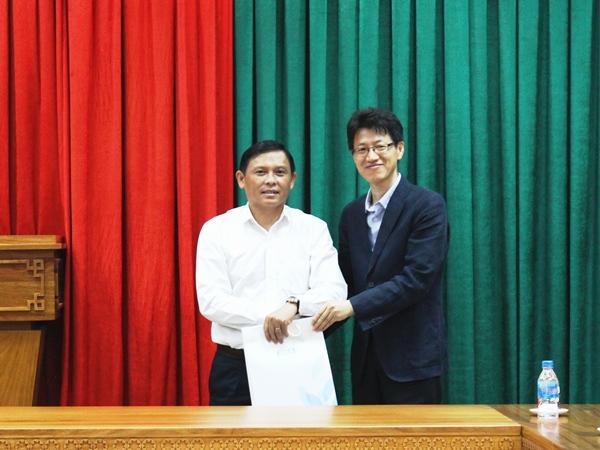 UBND tỉnh tiếp và làm việc với Đoàn công tác của Cơ quan Hợp tác quốc tế Hàn Quốc