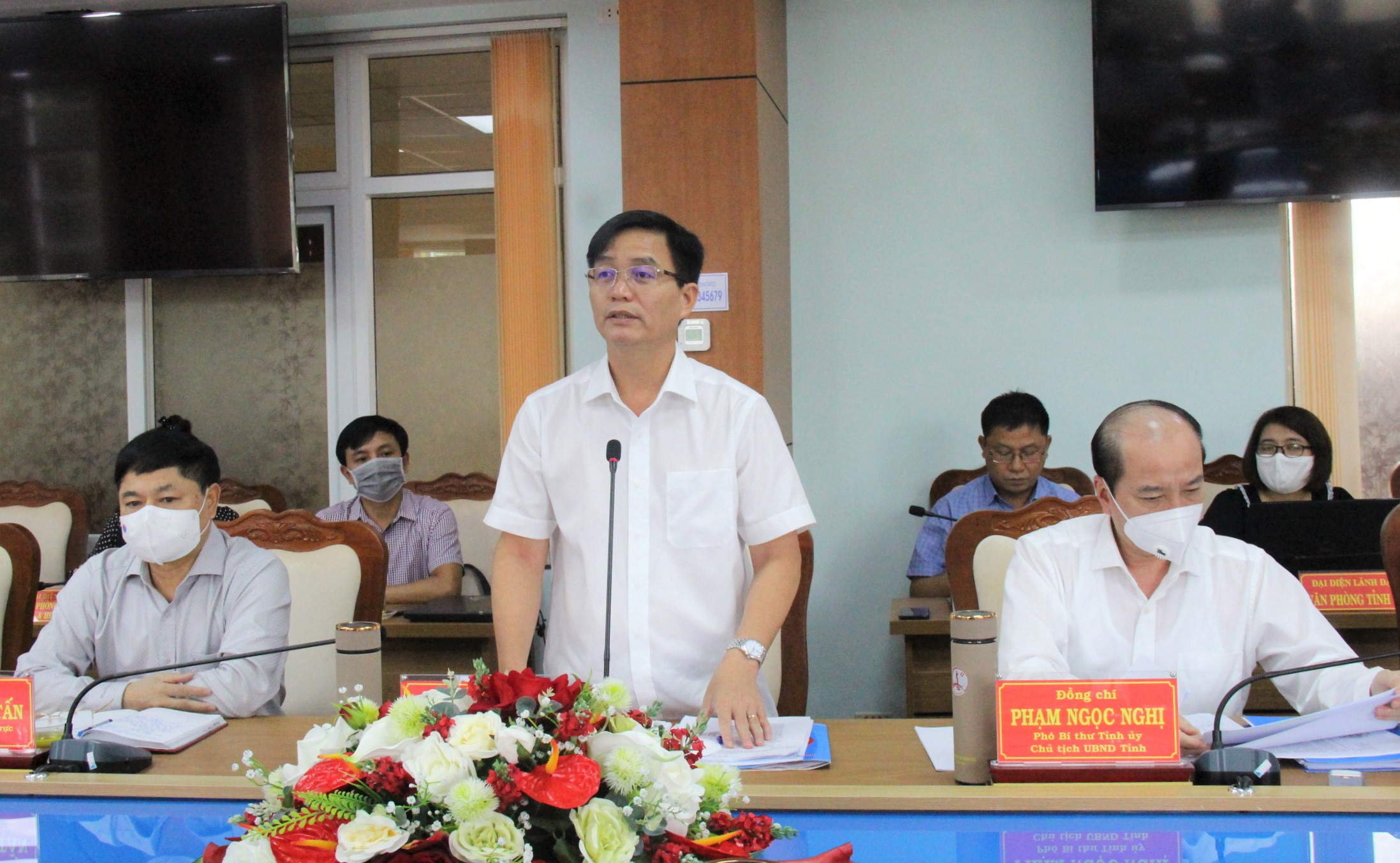 Đoàn công tác của Ban Thường vụ Tỉnh ủy làm việc với Thành ủy Buôn Ma Thuột