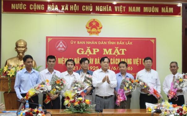 UBND tỉnh gặp mặt các cơ quan báo chí nhân Ngày báo chí Cách mạng Việt Nam