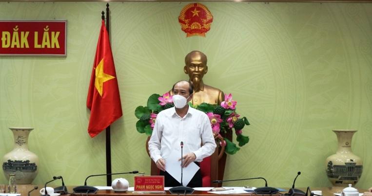 Chủ tịch UBND tỉnh Phạm Ngọc Nghị yêu cầu xây dựng kịch bản mới để ứng phó với dịch bệnh Covid-19