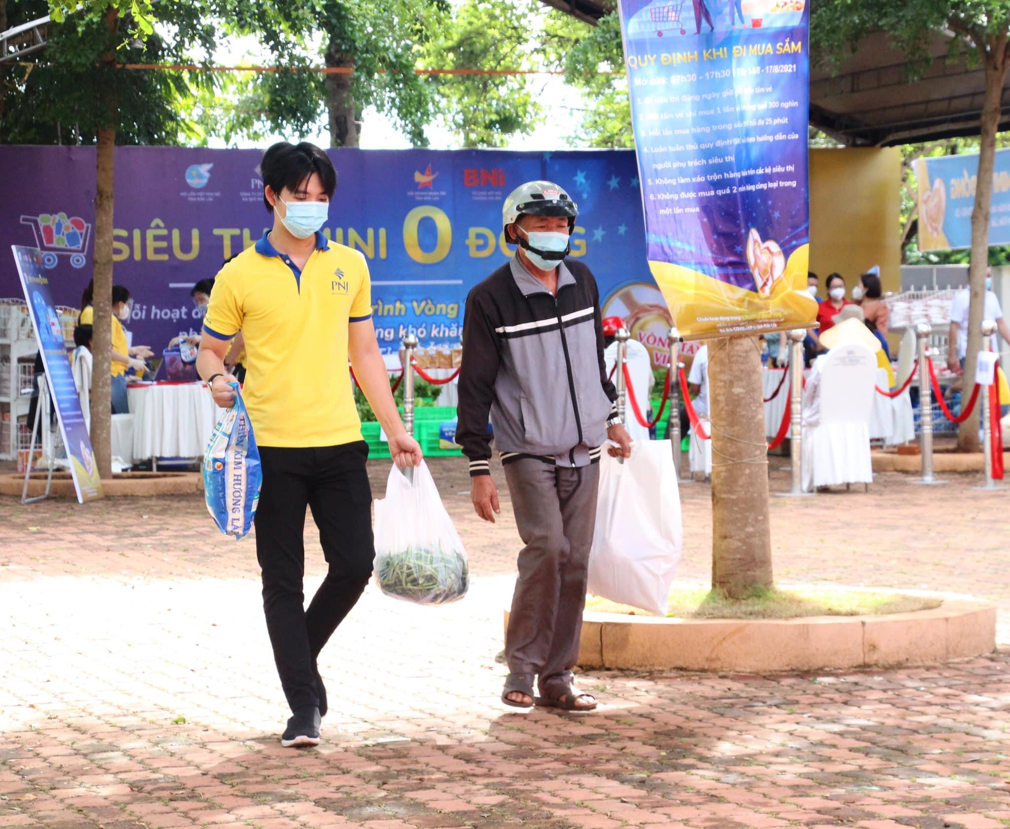 """Triển khai """"Siêu thị mini 0 đồng"""" tại Thị xã Buôn Hồ, Krông Búk, Cư M'gar"""