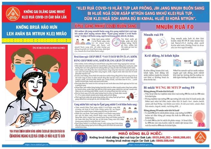 Sở Thông tin và Truyền thông đẩy mạnh tuyên truyền phòng chống dịch COVID-19