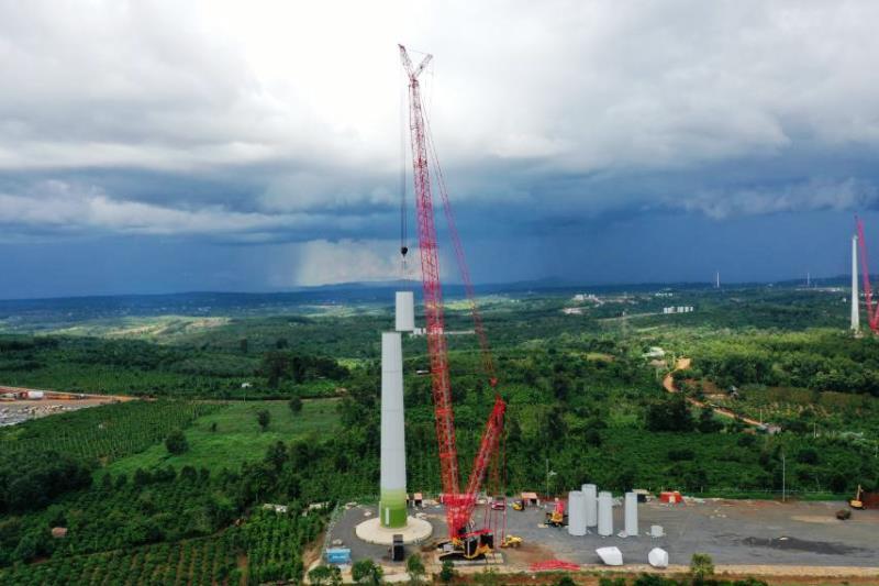 Đắk Lắk đề xuất Bộ Công Thương trình phương án gỡ khó cho các doanh nghiệp đầu tư điện gió