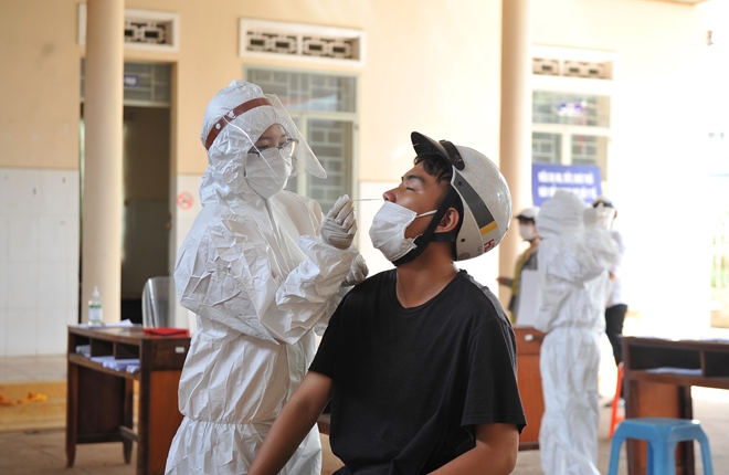 Toàn tỉnh ghi nhận 12 trường hợp dương tính với SARS-CoV-2