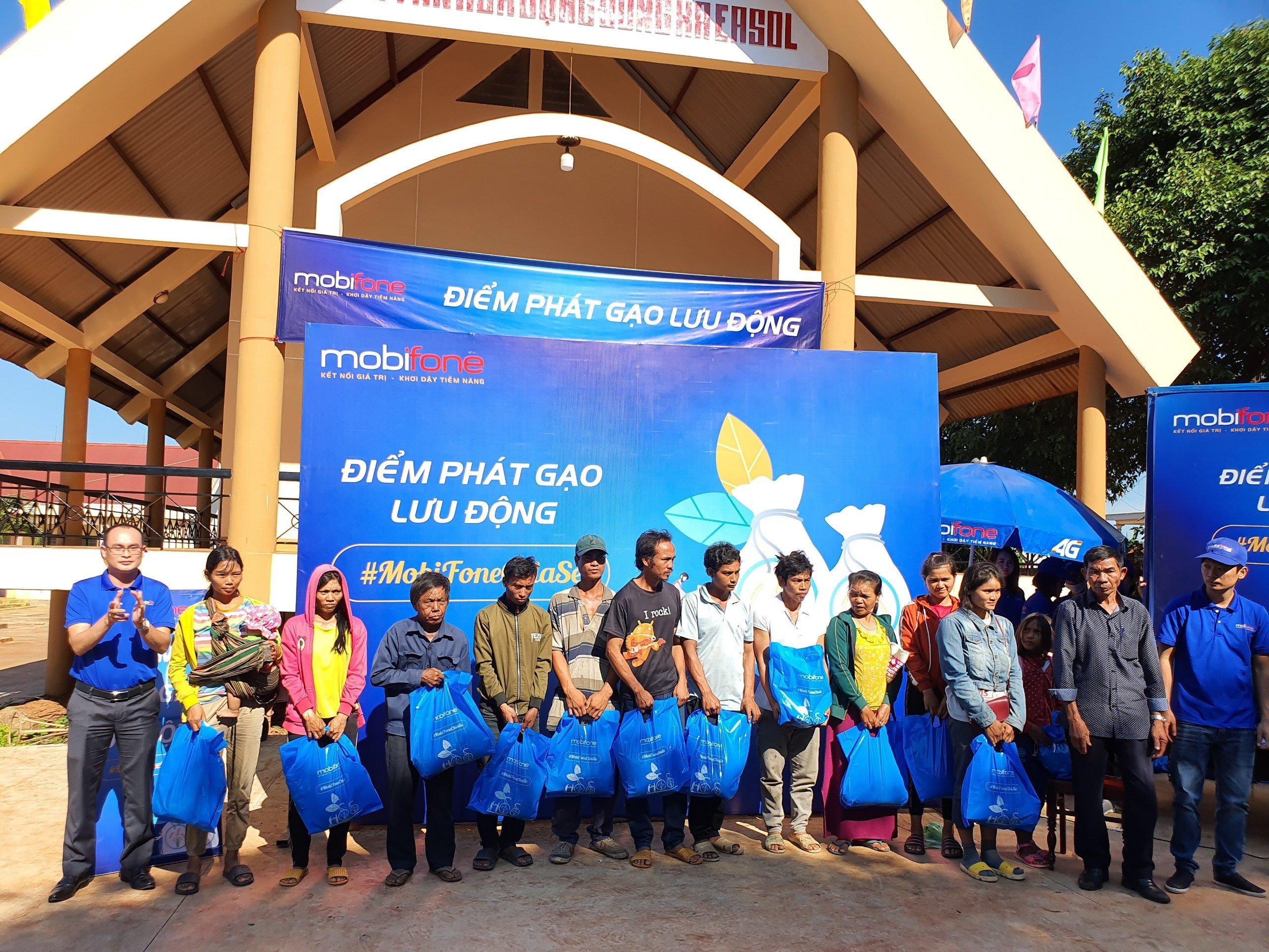 Mobifone sẽ hỗ trợ 1000 túi an sinh xã hội tại Đắk Lắk