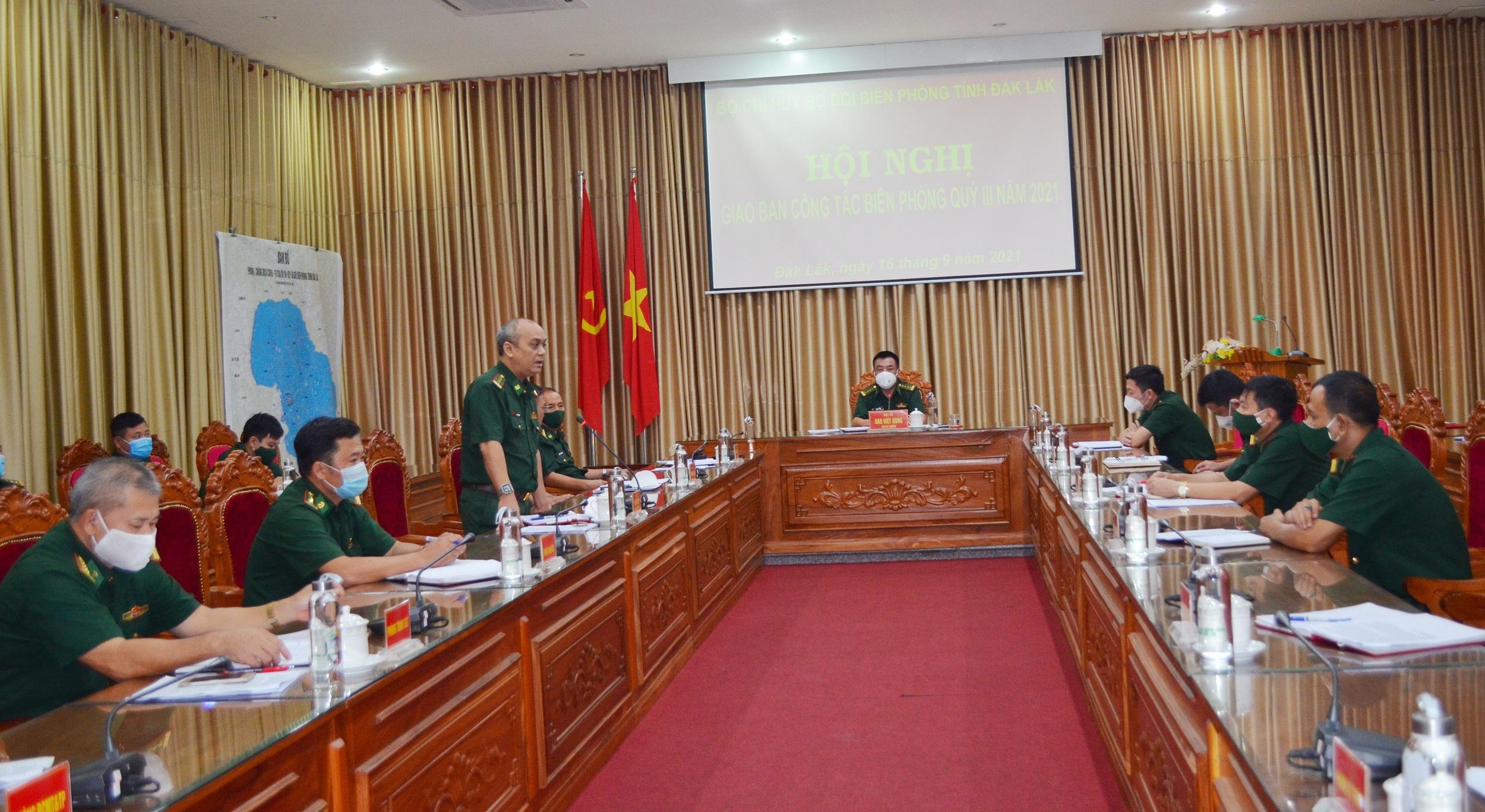 Bộ đội Biên phòng tỉnh Đắk Lắk triển khai công tác biên phòng quý IV năm 2021