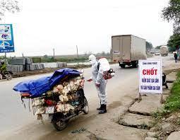 Thành lập Chốt kiểm dịch động vật tạm thời trên tuyến đường Đông Trường Sơn.