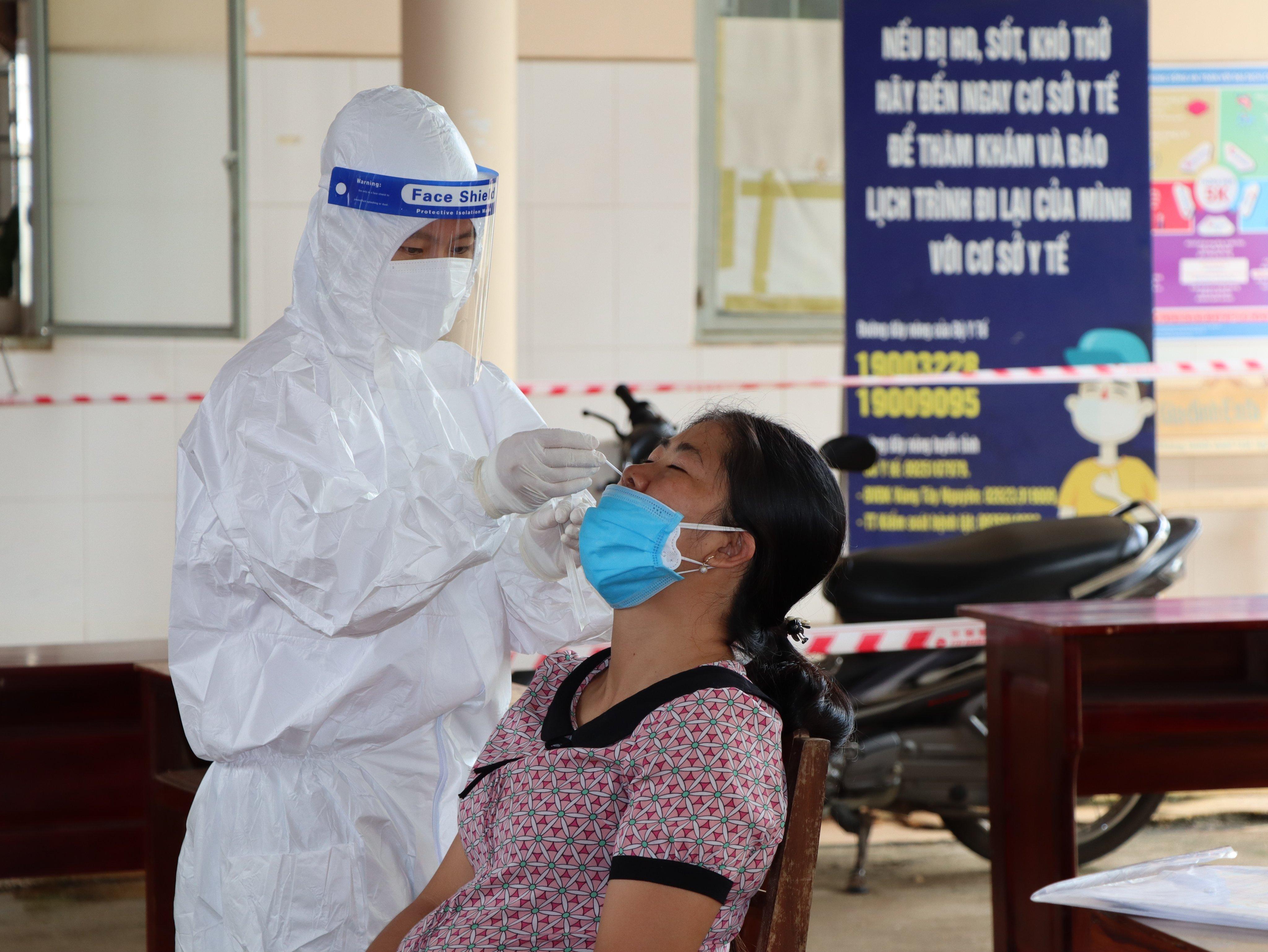 Đắk Lắk ghi nhận thêm 14 trường hợp dương tính với SARS-CoV-2 trong ngày 16/9