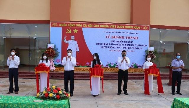 Nhiều hoạt động ý nghĩa nhân kỷ niệm 40 năm ngày thành lập huyện Krông Ana