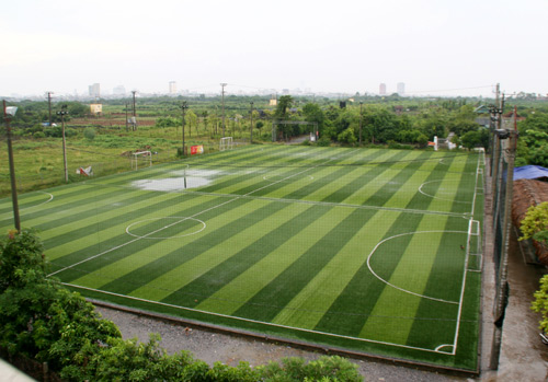 Triển khai thủ tục đầu tư dự án Sân bãi thể thao phường Tân Lập