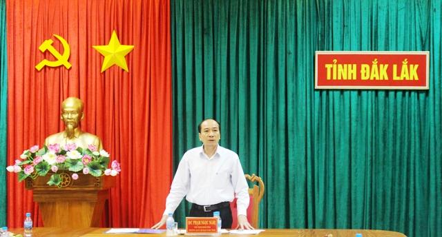 Thông báo Kết luận của đồng chí Phạm Ngọc Nghị - Chủ tịch UBND tỉnh, Trưởng Ban Chỉ đạo phòng, chống dịch COVID-19 tỉnh tại cuộc họp Thường trực Ban Chỉ đạo ngày 22/10/2021
