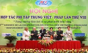 Tham dự Hội nghị hợp tác giữa các địa phương Việt Nam – Pháp lần thứ 10 tại thành phố Cần Thơ