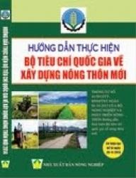 Hướng dẫn thực hiện Tiêu chí huyện nông thôn mới