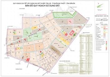 Điều chỉnh tổng thể Quy hoạch chi tiết Khu dân cư đô thị khối 6 phường Tân An, thành phố Buôn Ma Thuột
