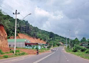 Điều chỉnh dự án Đường giao thông liên huyện Ea Kar đi M'Đrắk