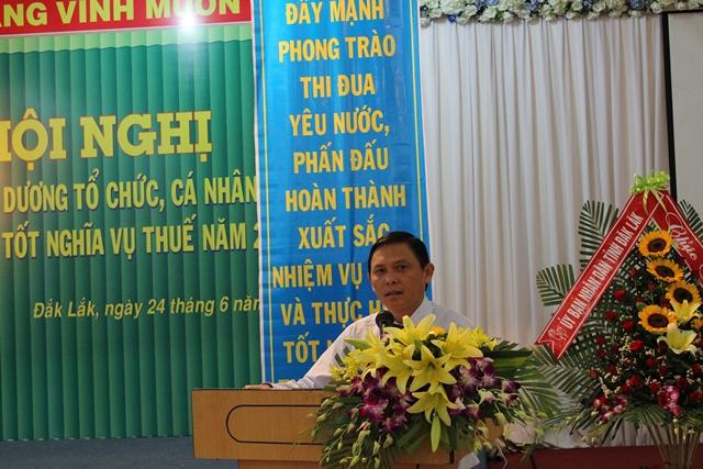 Hội nghị tuyên dương các tổ chức, cá nhân thực hiện tốt chính sách, pháp luật thuế năm 2015.