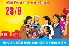 Kế hoạch tổ chức các hoạt động kỷ niệm Ngày Gia đình Việt Nam năm 2016 trên địa bàn tỉnh