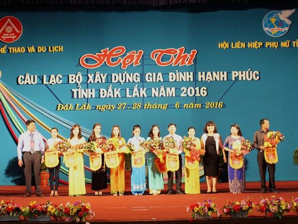Khai mạc Hội thi Câu lạc bộ xây dựng gia đình hạnh phúc tỉnh Đắk Lắk năm 2016