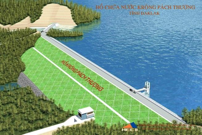 Đẩy nhanh tiến độ giải phóng mặt bằng Dự án Hồ Krông Pách Thượng