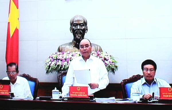 Chính phủ họp phiên thường kỳ tháng 6 năm 2016