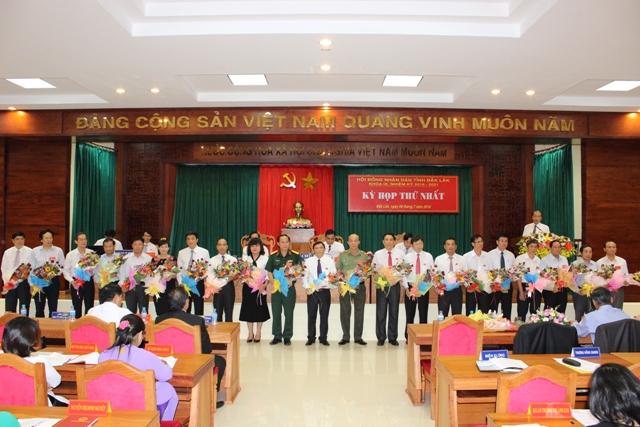 Bế mạc Kỳ họp thứ nhất HĐND tỉnh khóa IX, nhiệm kỳ 2016-2021