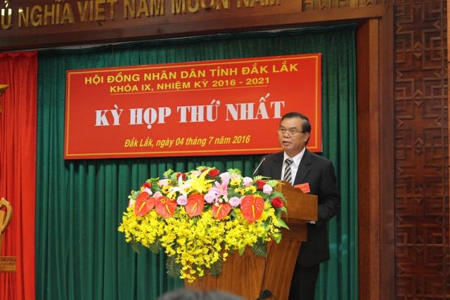 Khai mạc Kỳ họp thứ nhất, HĐND tỉnh khóa IX