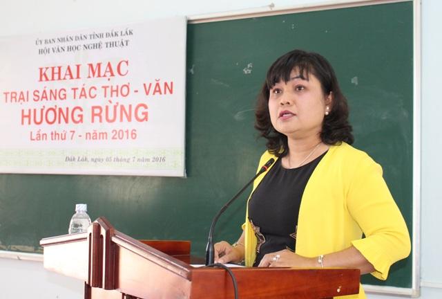Khai mạc Trại sáng tác thơ – văn Hương Rừng lần thứ VII – năm 2016.