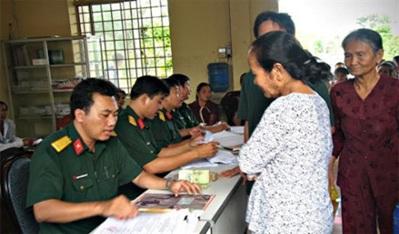 Giải quyết chế độ trợ cấp một lần đối với người được cử làm chuyên gia sang giúp Lào, Campuchia