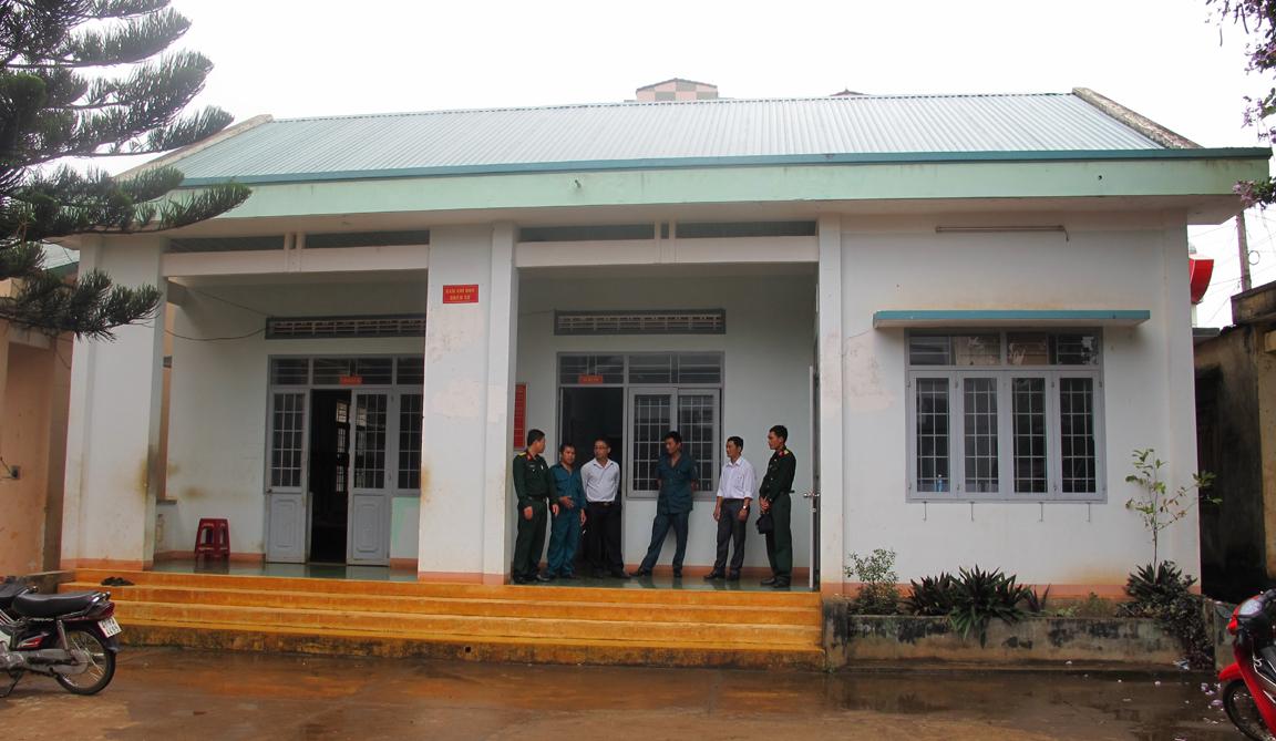 Phê duyệt Báo cáo kinh tế kỹ thuật công trình Nhà làm việc Ban Chỉ huy Quân sự cấp xã, huyện Ea H'leo