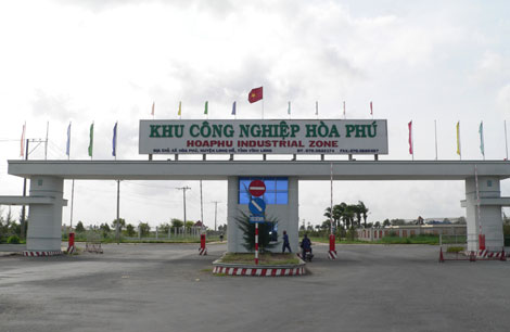 Phê duyệt thiết kế bản vẽ thi công – dự toán công trình: Hệ thống giao thông trong hàng rào Khu công nghiệp Hòa Phú