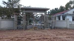 Kinh phí xây dựng sân, cổng, tường rào, nhà bảo vệ của Công đoàn Viên chức tỉnh.