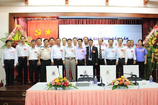 Đại hội đại biểu Hội Luật gia tỉnh Đắk Lắk lần thứ V, nhiệm kỳ 2016-2021