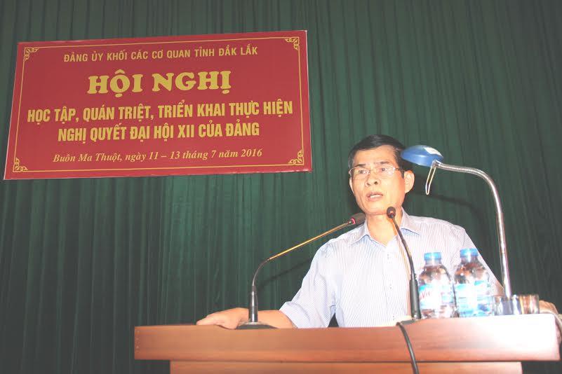 Hội nghị học tập, quán triệt và triển khai thực hiện Nghị quyết Đại hội XII của Đảng