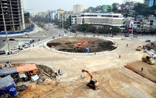 Cải tạo nút giao thông đường Nguyễn Tất Thành – Trần Hưng Đạo, thị trấn Krông Năng