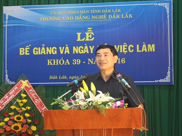 """Trường Cao đẳng Nghề Đắk Lắk tổ chức """"Ngày hội việc làm năm 2016"""" cho học sinh, sinh viên"""