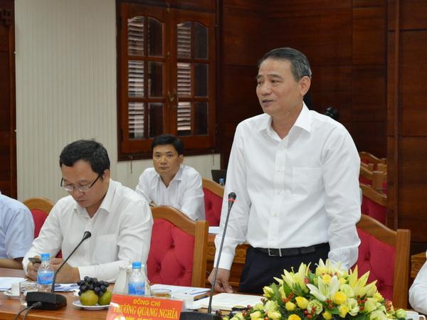 Bộ trưởng Bộ Giao thông vận tải làm việc tại Đắk Lắk