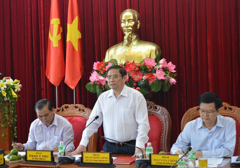 Trưởng Ban Tổ chức Trung ương làm việc với Tỉnh ủy về công tác xây dựng Đảng gắn với nhiệm vụ phát triển KT-XH, đảm bảo quốc phòng an ninh.