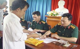 Thực hiện chế độ trợ cấp một lần đối với đối tượng tham gia chiến tranh bảo vệ Tổ quốc và làm nhiệm vụ quốc tế