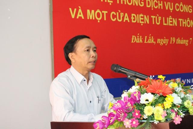 Tập huấn hệ thống dịch vụ hành chính công trực tuyến và một cửa liên thông cấp xã, phường tại thành phố Buôn Ma Thuột.