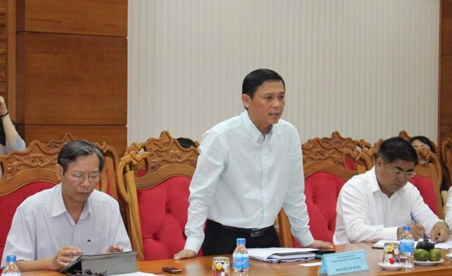 Đoàn công tác của Văn phòng Cơ quan  Hợp tác quốc tế Hàn Quốc tại Việt Nam làm việc với UBND tỉnh.