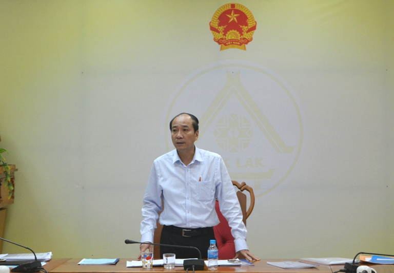 UBND tỉnh họp thông qua các nội dung trình kỳ họp thứ hai, HĐND tỉnh khóa IX