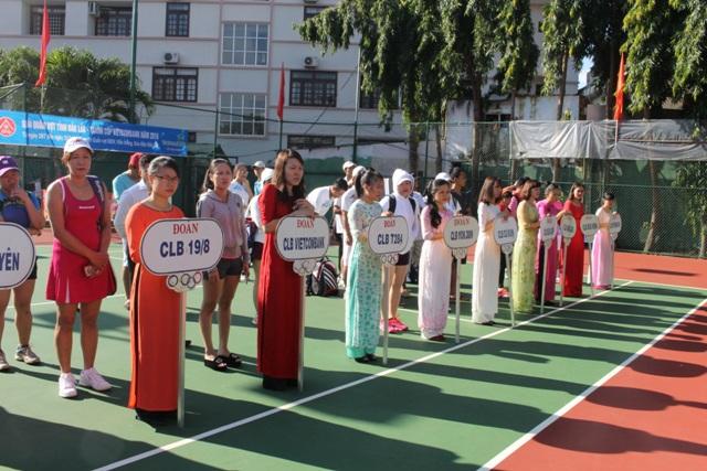 Khai mạc Giải Quần vợt tỉnh Đắk Lắk tranh cúp Vietcombank năm 2016.