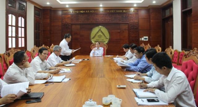 Họp thống nhất chương trình tham gia Hội chợ Trung Quốc – ASEAN lần thứ 13