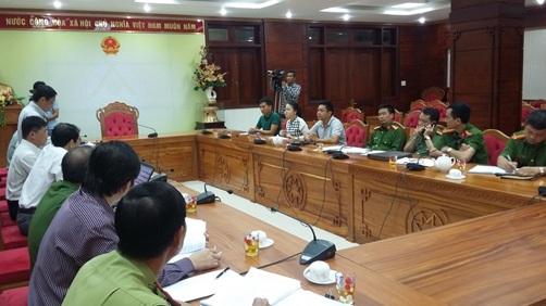 Phát ngôn của lãnh đạo Công an tỉnh Đắk Lắk trong buổi làm việc với nhóm phóng viên Trung tâm tin tức VTV 24