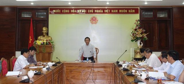 Họp Ban Chỉ đạo Đổi mới và Phát triển doanh nghiệp tỉnh.