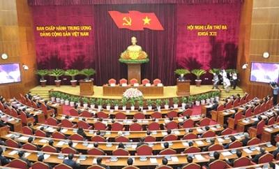 Nội dung cơ bản về kết quả Hội nghị lần thứ Ba Ban Chấp hành Trung ương Đảng khóa XII