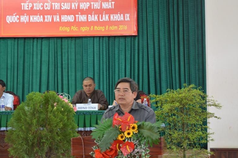 Đại biểu Quốc hội và Đại biểu HĐND tỉnh cần tăng cường công tác giám sát các chính sách đã ban hành.