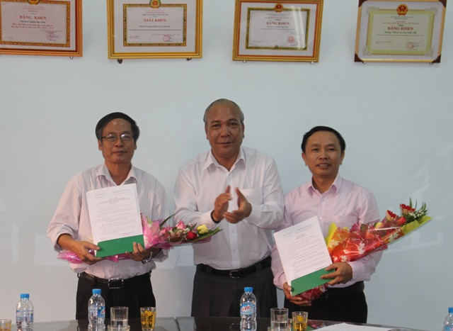 Công bố Quyết định điều động, bổ nhiệm chức danh Hiệu trưởng Trường Chính trị tỉnh.