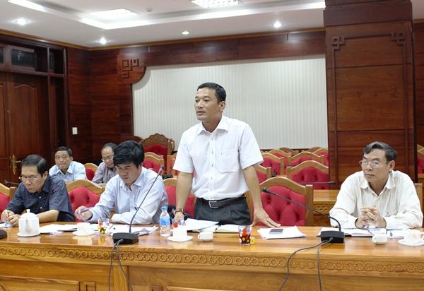 Đoàn công tác của Liên minh Hợp tác xã Việt Nam làm việc với Ban Chỉ đạo phát triển kinh tế hợp tác xã tỉnh.