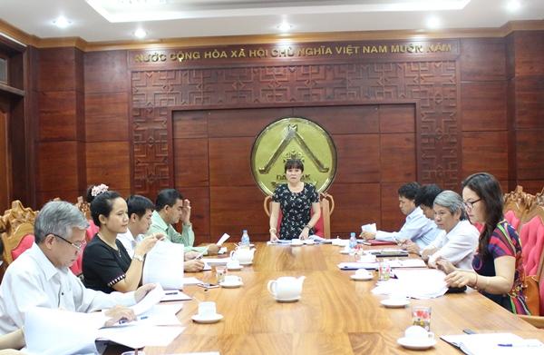 Ban Văn hóa – Xã hội thẩm tra các Tờ trình, Đề án, dự thảo Nghị quyết trình tại Kỳ họp thứ 2 HĐND tỉnh